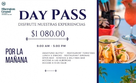 Day Pass All Days All Summer at Sheraton Grand